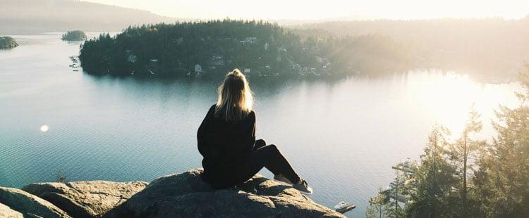 woman-overlooking-lake