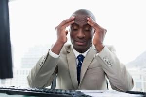 man headache