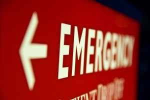 Emergency room on thanksgiving