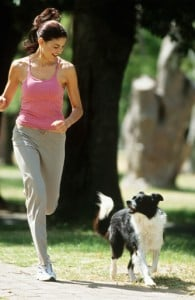 pet health and running