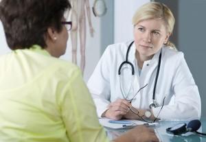 Doctor-female patient