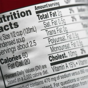 Nutrition-label