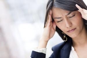 Woman-with headache