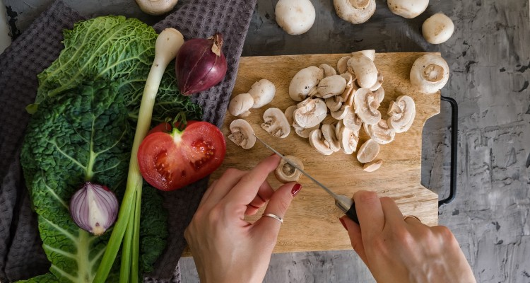 mushrooms, health and wellness, diet